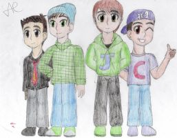 Big Time Rush :D by Supersonia