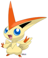 victini vector by gensafe
