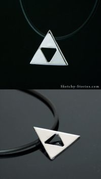 Triforce Pendant by Sketchy-Stories