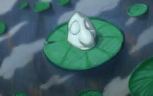 Marshmallow And Lily Pad by DenzelAJackson