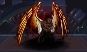 Axel - Rise Above the Flame by AerithReborn