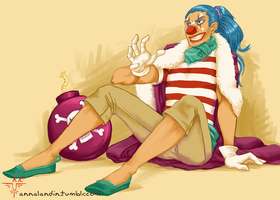 Buggy the Clown by smokewithoutmirrors