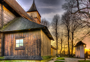 Wooden Church by marrciano