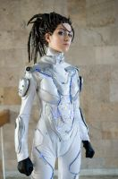 StarCraft. Sarah Kerrigan, cosplay by Feyische