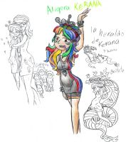 La chica arco iris. by ah-puch-zegno