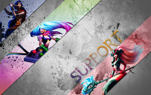 Support Wallpaper by BethanyHale