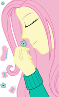 Fluttershy's Serenity by missgoldendragon
