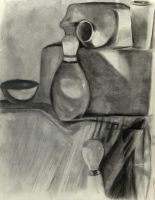 Charcoal Still Life by Elleon12