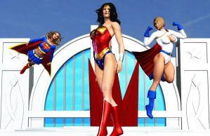 DC's Leading Ladies by FredAckerman