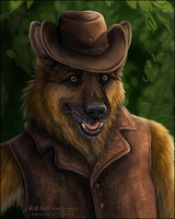 'Cowboy' - Closeup by Sidonie