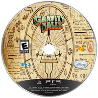 Gravity Falls Game CD by ETSChannel