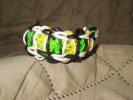 Rainbow Loom: Diamond Ladder by Culinary-Alchemist