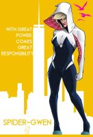 Spidergwen - With great power ... by Spidertof