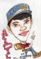 Hairul's Caricature by Ravisk