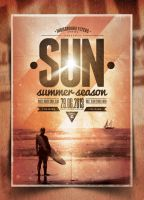 Summer Poster Template Vol. 3 by IndieGround