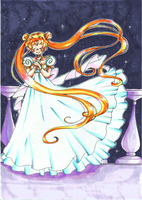 Princess Serenity by luigipony