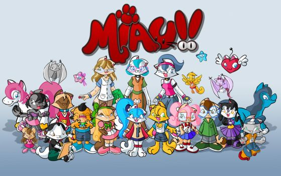 Miau Kids Wallpaper by Fificat