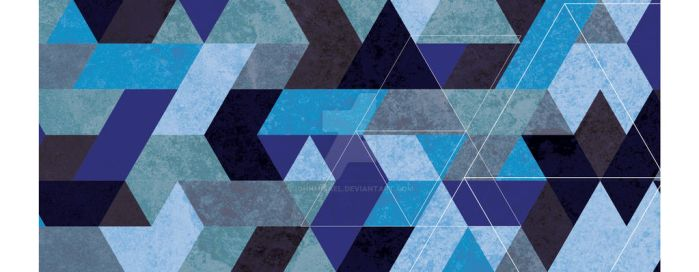 Pattern - Blue by johnmisael