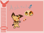 Warrior-Chus App: Ashtail by Neon-Blue-27