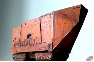 F-Toys Sand Crawler repaint by G2ORC