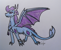 Evelyn Dragoness by BlueEvelyn