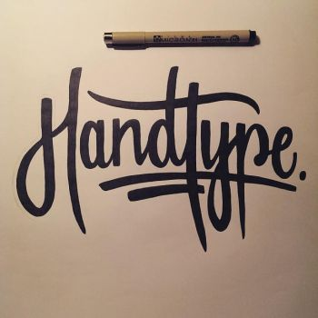 Handtype - Typograhpy by Mackintosh141