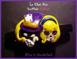 Dark Alice in Wonderland by LeChatNoirHandMade