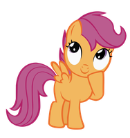 Scootaloo Thinking by sistemx