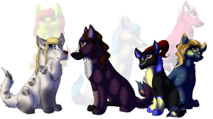 Work Wolves by lolpeaceoutlol