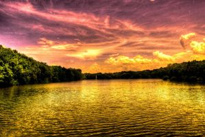 Golden Lake by SharpPhotoStudio