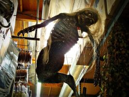 Halloween Fiji Mermaid Prop by InnsmouthFishwife