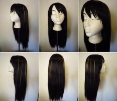 Rinoa wig 2 from Final Fantasy 8 by taiyowigs