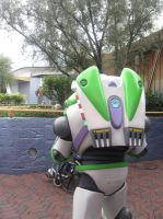 Buzz Lightyear in Tomorrowland Alley 3 by EspioArtwork