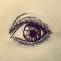 realistic eye by ROX28