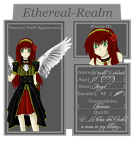 ER: Librarian - Priscilla by captured-firefly