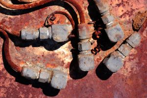 Rusty Machinery by GrungeTextures