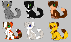 Adoptables #1 by skyclan199