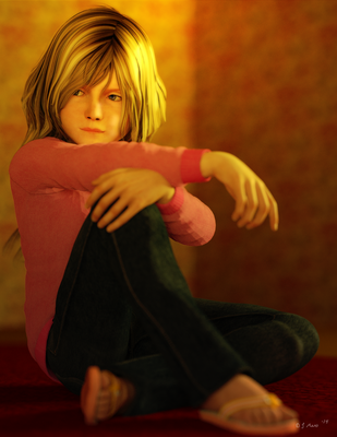 Child out of motion by Zethara