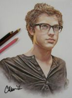 Cameron Mitchell Drawing by Live4ArtInLA