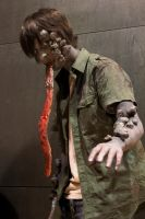 Left 4 Dead Smoker cosplay by Doomega
