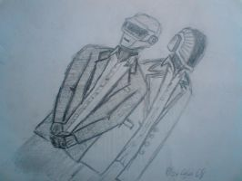 The Daft Punk by momentscomic