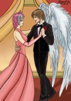 Sawyer and Danny at The Dance by Mangaka-Aspiration