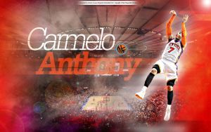 Carmelo Anthony by drgraphic