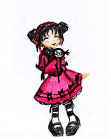 OOC A Gothic Lolita Pucca by Rose44