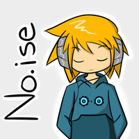 Listening to Noise by WaywardDoodles
