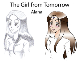 The Girl From Tomorrow by halo91