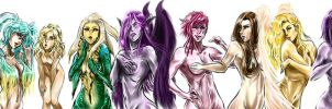 Secound 10 League Girls by asa94