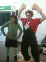 Wreck it Ralph cosplay by Legion117