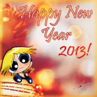 Happy New Year 2013 by Karo0liNa