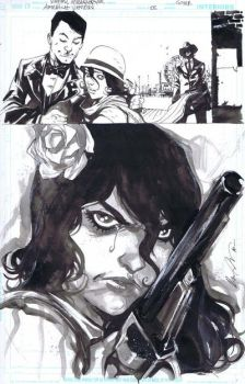 American Vampire 5 Cover by CadenceComicArt